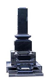 高級型スリン付/インド黒みかげ石